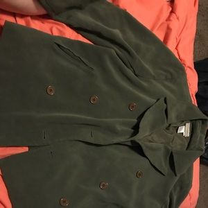Coldwater creek button down coat